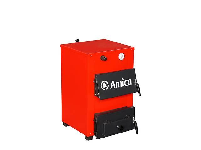 продам Твердотопливный котел Amica Optima 18 кВт. До 180 м2. Доставка по Украине бу в Киеве
