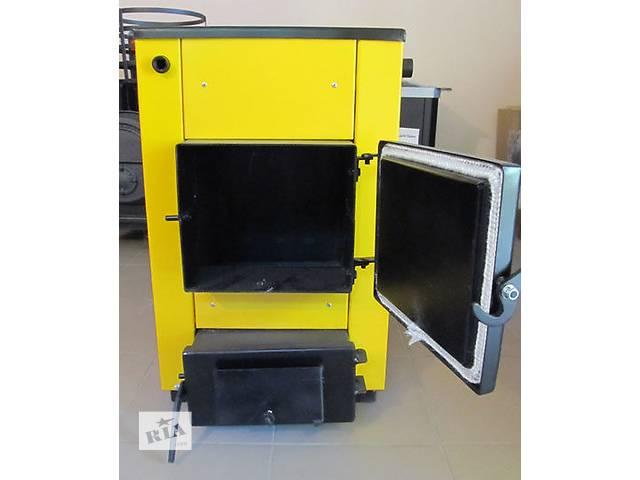 продам Твердотопливный котел Буран-mini 14П 14 кВт 8 часов бу в Виннице