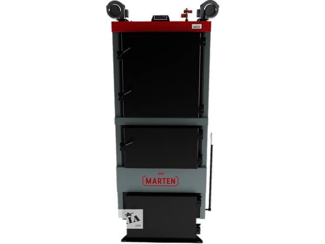 купить бу Твердотопливный котел длительного горения Marten Comfort MC-98 в Львове