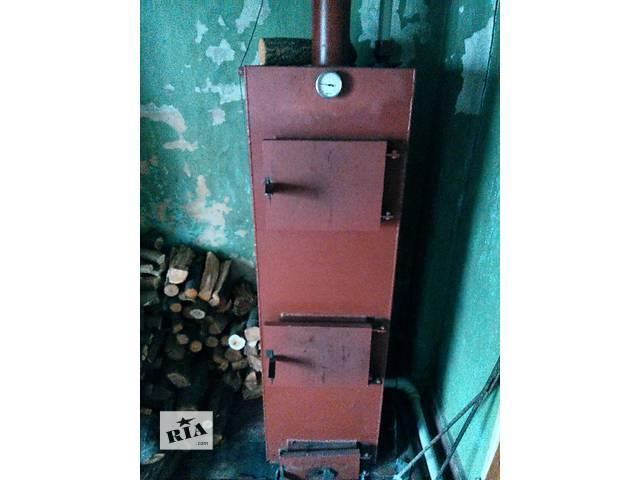 купить бу Твердотопливный котел длительного горения в Днепре (Днепропетровск)