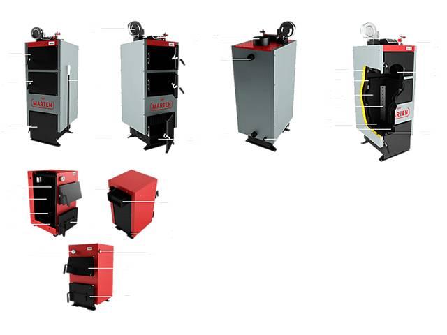 Твердотопливный котел Marten Comfort MC-24 кВт Доставка бесплатно- объявление о продаже  в Сумах