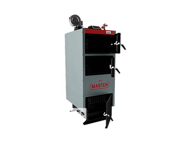 купить бу Твердотопливный котел Marten Comfort MC-33 кВт Бесплатная доставка в Сумах