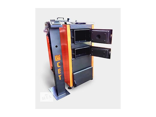 Твердотопливный котел СЕТ 100 кВт  с ручной загрузкой топлива + Подарок- объявление о продаже  в Киеве