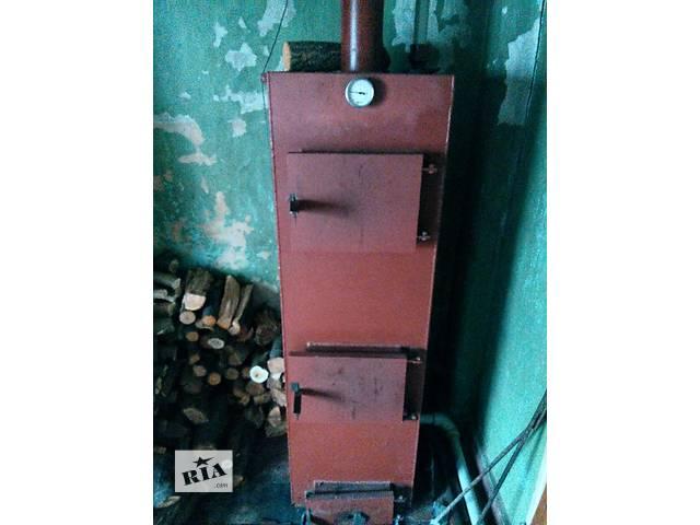 продам Твердотопливный котел верхнего горения бу в Днепре (Днепропетровск)