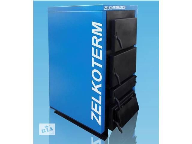 купить бу твердотопливный котел ZelkoTHERM KTZ10 для обогрева площади в 100 м.кв в Киеве