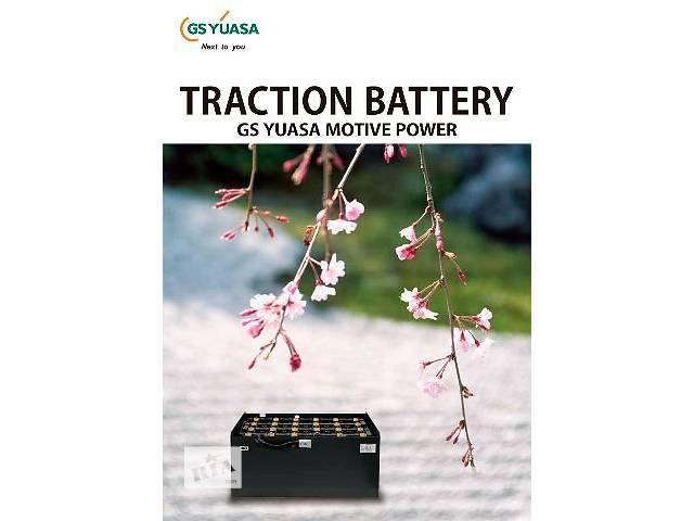 купить бу Тяговые батареи к электрокарам YUASA (Япония) в Виннице