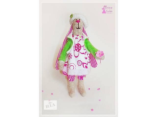 продам Тильда. Кролик Сима. Текстильная игрушка - сувенир. Ручная работа. бу в Херсоне