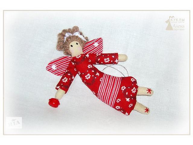 купить бу «Тильда Анлел подвесная игрушка – Рождественский » в Херсоне