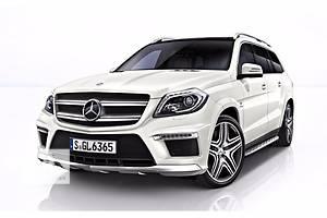 Новые Обвесы бампера Mercedes GL-Class