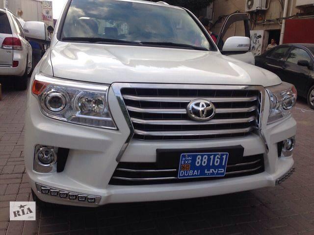купить бу Тюнинг обвес Toyota Land Cruiser 200 (Стиль Lexus LX 570). в Луцке