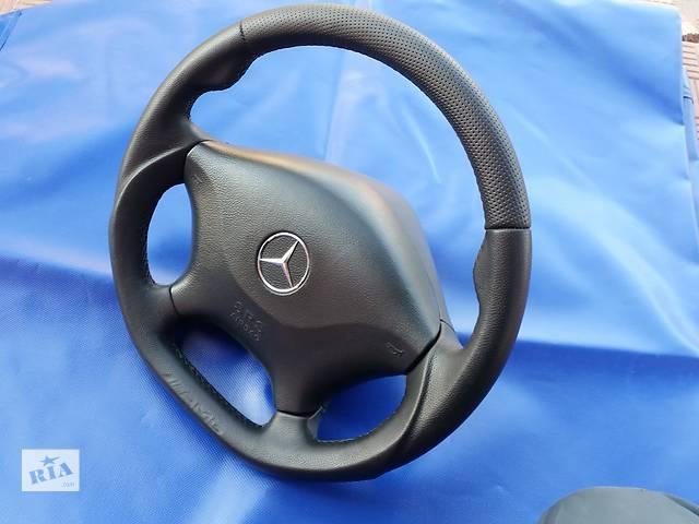 продам Тюнингованный руль в коже с анатомией и мускулами Mercedes Viano w639 бу в Ровно