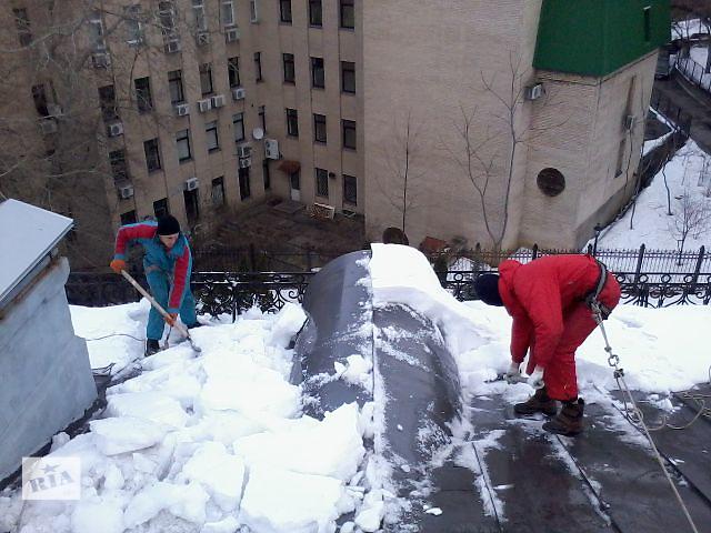 продам Уборка снега с крыш альпинистами бу в Киеве