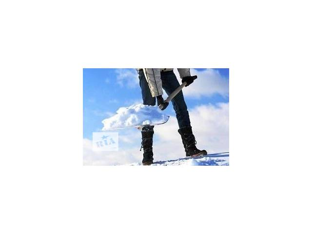 бу Уборка снега в Виннице