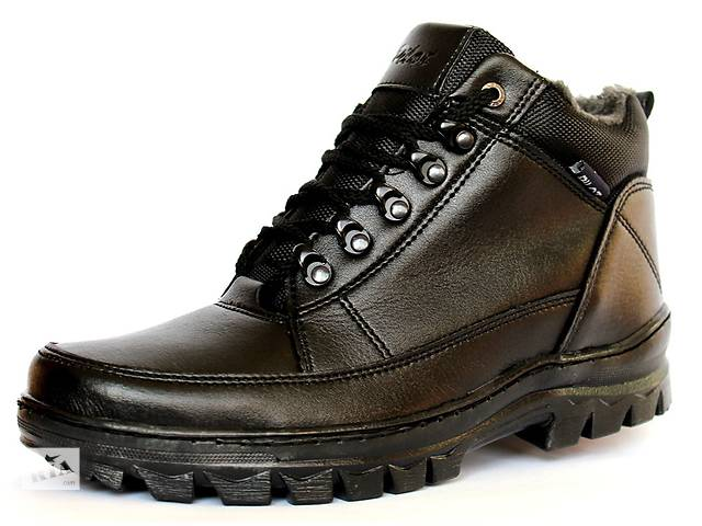 продам Зимние ботинки для мужчин стильные. Удобная обувь для ежедневного использования на работу, учебу и т.д. бу в Днепре (Днепропетровск)
