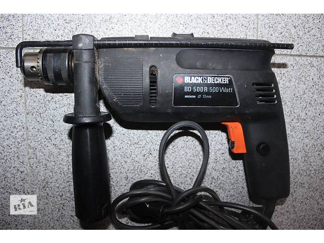 бу Ударная дрель Black&Decker BD 500R 500W (на запчасти) в Обухове