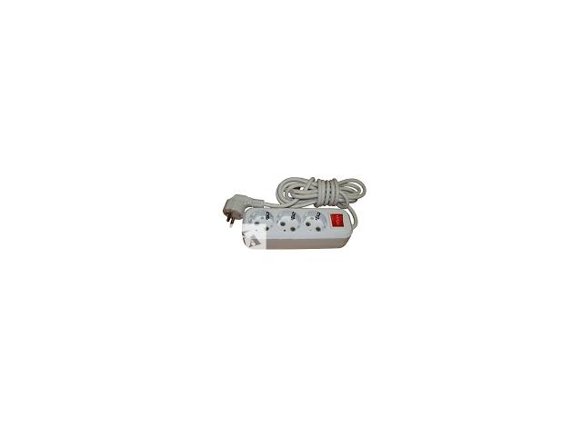 продам Удлинитель (переноска) LUXEL с заземлением и выключателем бу в Виннице