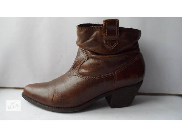 бу Удобные модные кожаные ботики faith.размер 8(42) в Калуше