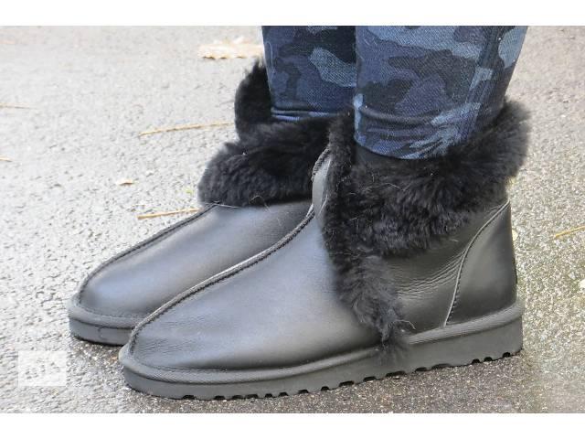продам ugg skin new 2016!шикарные новые кожаные угг бу в Киеве