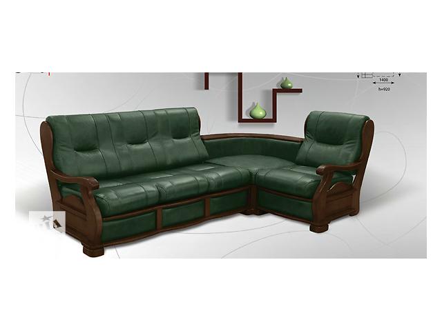 продам Угловой кожаный диван Триумф Софа, есть в наличии бу в Киеве