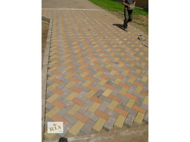 продам укладка тротуарной плитки бу в Лубнах
