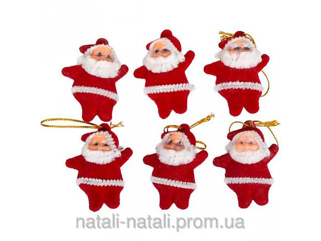 продам Украшение «Дед Мороз» красный бу в Мариуполе