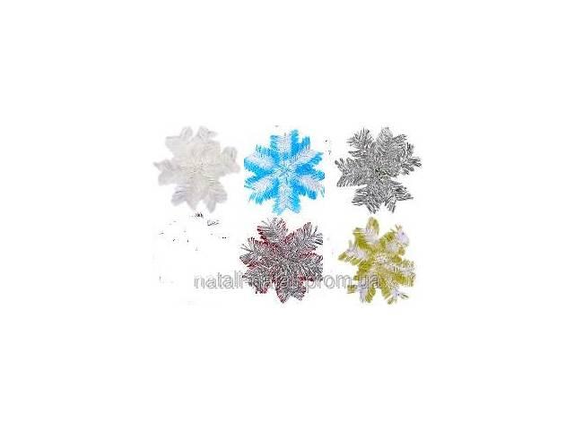 продам Украшение «Снежинка» мини из дождика  бу в Мариуполе