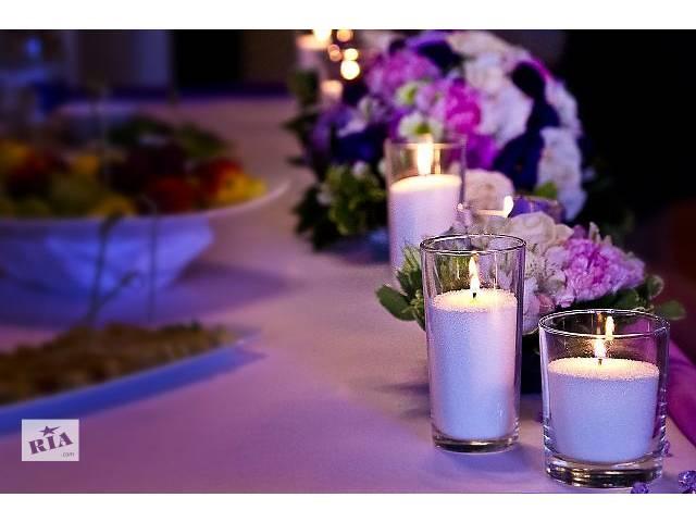 купить бу Украшение торжеств насыпными свечами в Харькове