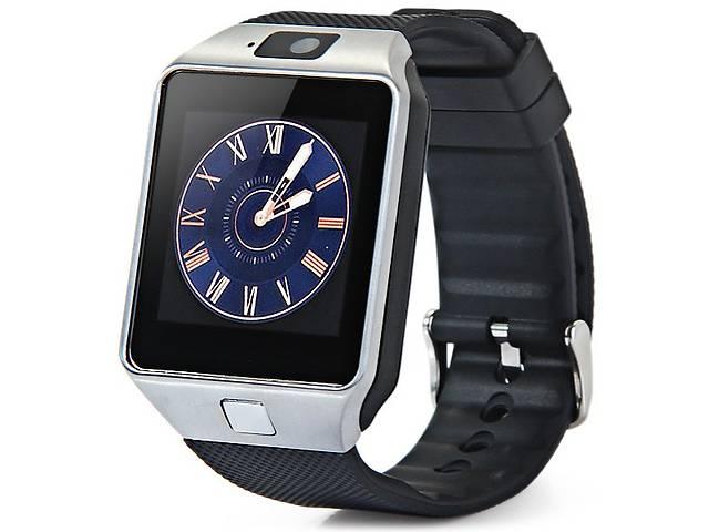 купить бу Умные часы Smart Watch DZ09D с поддержкой SIM +microsd +камера в Киеве