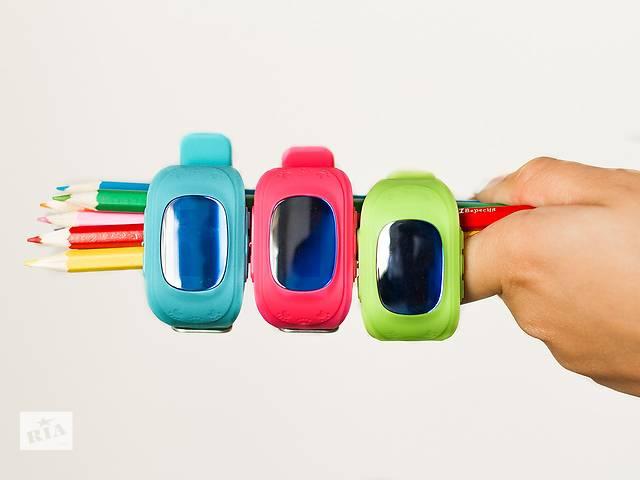 продам Умные детские часы с GPS трекером Q50 бу в Одессе