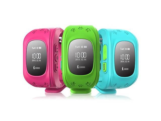 купить бу Умные детские часы Smart Baby Watch Q50 Android iOS с GPS треккером в Одессе