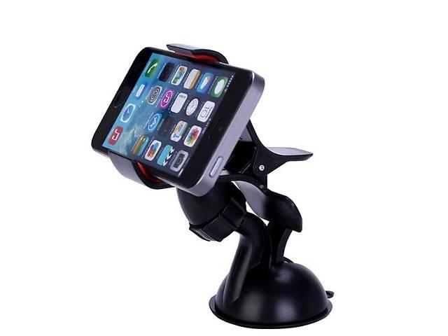купить бу Универсальный держатель телефона в автомобиль. Крутится на 360 градусов. в Киеве