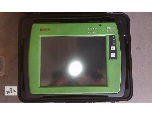 купить бу Универсальный сканер Bosch (Бош) KTS 650 (авто диагностика) в Киеве