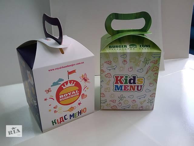 купить бу Упаковка для детских меню.  в Украине
