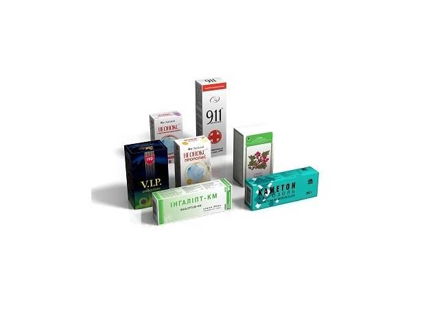 Упаковка Из Картона Для Лекарственных Препаратов- объявление о продаже  в Харькове
