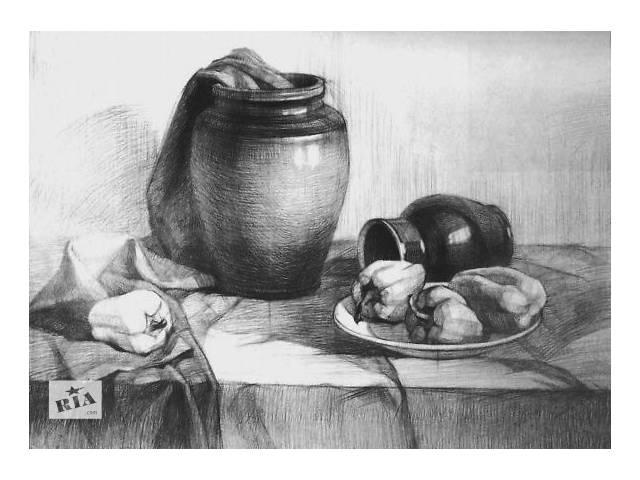 Уроки рисования Уроки рисования для начинающих- объявление о продаже  в Днепре (Днепропетровске)