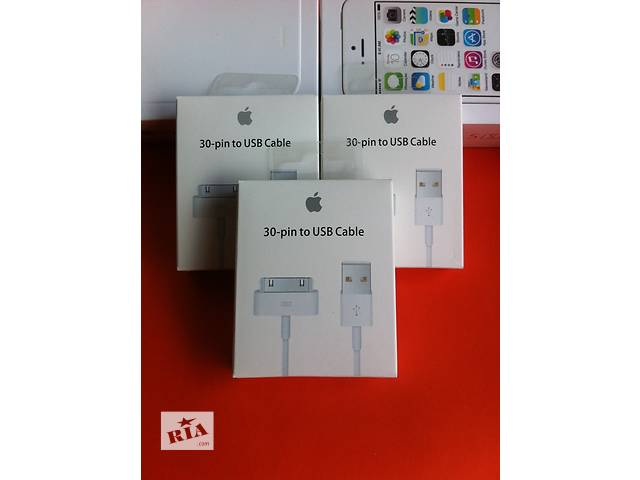 купить бу usb кабель iPhone 3/3g/4/4s юсб зарядка кабель айфон 4/4s iPad 2 ОРИГИНАЛ в Днепре (Днепропетровске)