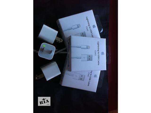 продам USB кабель Lightning iPhone 5/5s/6/6s + Блочек бу в Днепре (Днепропетровске)