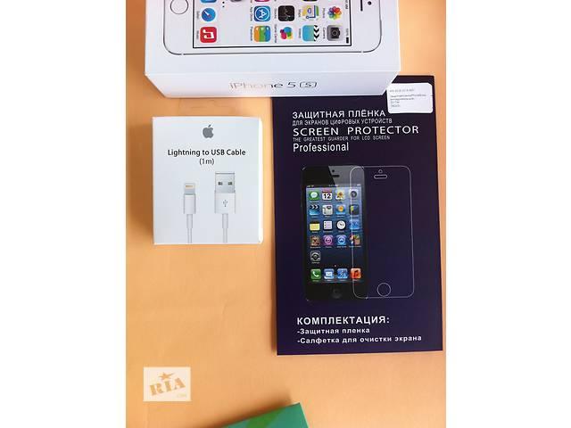продам usb lightning кабель iPhone 5 5s 6 6s лайтинг зарядка айфон + ПОДАРОК! бу в Днепре (Днепропетровск)