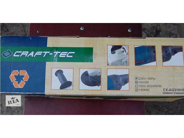 продам УШМ (болгарка) CRAFT-TEC. бу в Житомире