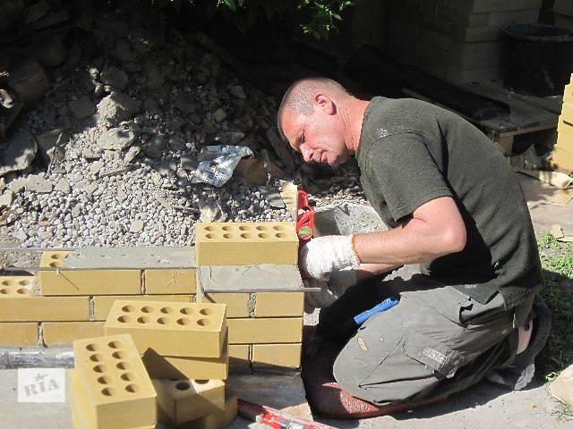 купить бу Услуги каменщика в Киеве