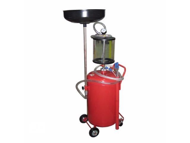 Установка для слива и вакуумной откачки масла с мерной колбой G.I. KRAFT B8010KVS  (80л.) - объявление о продаже  в Львове