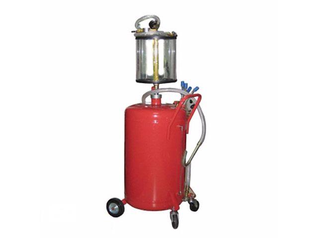 Установка для вакуумной откачки масла с мерной колбой  G.I. KRAFT B8010KV (80л.) - объявление о продаже  в Львове