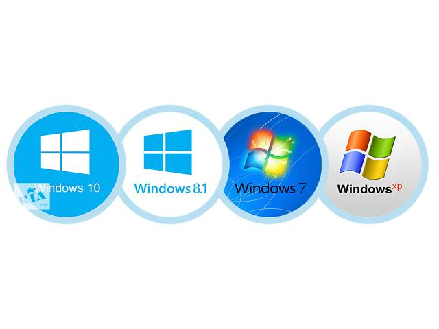 купить бу Установка Windows XP,7,8,10 и необходимого программного обеспечения в Сумах