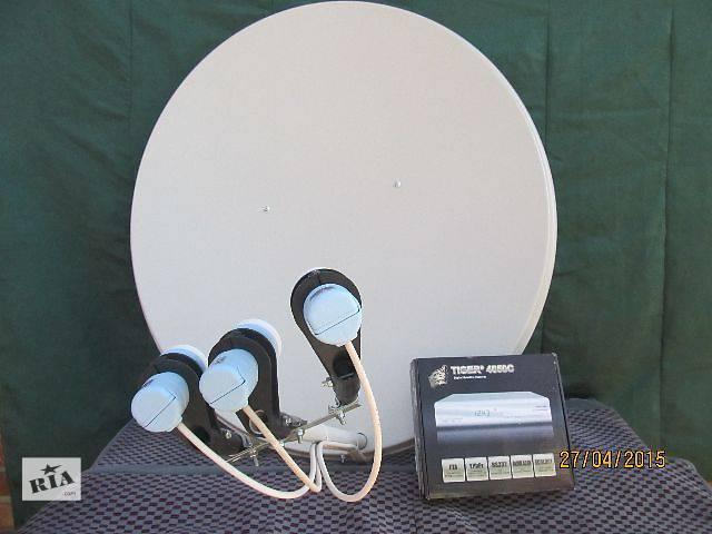 Установка и ремонт спутникового телевидения в Одессе.- объявление о продаже  в Ахтырке