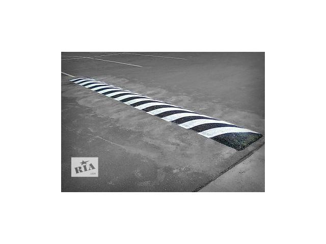 купить бу Устройство «лежачих полицейских», демонтаж асфальта в Чернигове