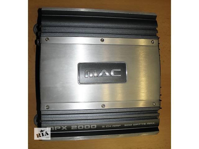 бу Усилитель автомобильный MAC MPX 2000 в Херсоне