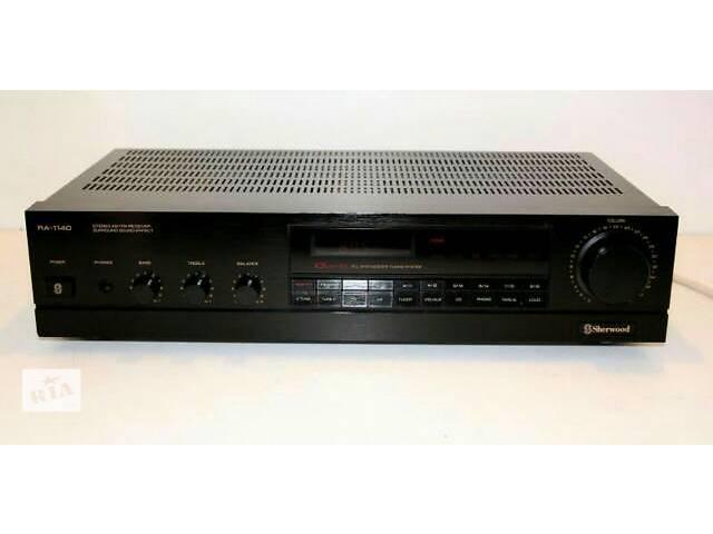 продам усилитель Sherwood 1140 stereo + Digital FM-radio 18 снаnel surraund sound рекомендованный тип колонок Radiotehnika S-90 бу в Львове