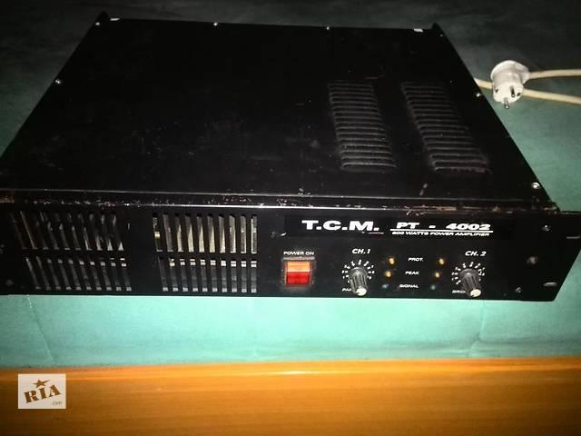 продам Усилитель Т.С.М. 4002 бу в Днепре (Днепропетровске)