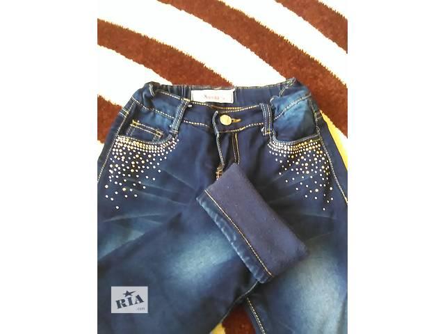 купить бу Утепленные джинсы для девочки в Тернополе