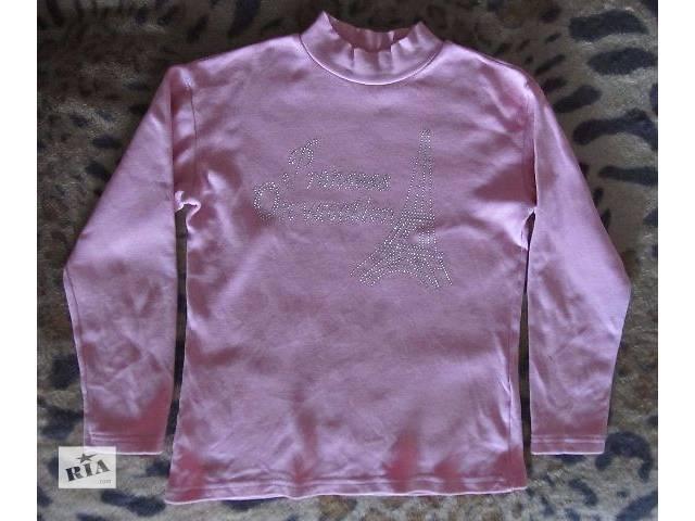 продам Утеплённая футболка на девочку 128р бу в Дружковке